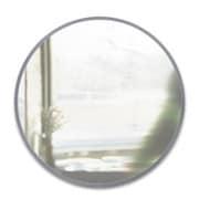 2358370918 [umbra ウォールミラー HUB MIRROR(ハブ ミラー 91×91cm) グレー]