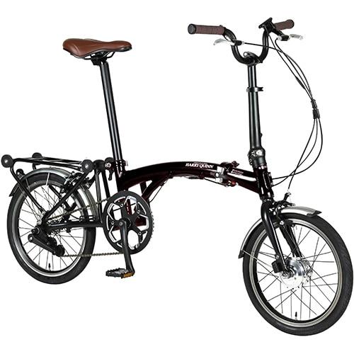 HARRY QUINN PORTABLE E-BIKE160 [電動アシスト自転車 16インチ(型) ブラック 2019年モデル]