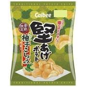 堅あげポテト きざみ柚子こしょう味 60g [スナック菓子]