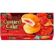 カスタードケーキ いちごのコンフィチュール仕立て 6個 [菓子]