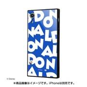 IQ-DP18K1B/DD001 [iPhone XR 耐衝撃ガラスケース KAKU ディズニー ドナルドダック/I AM]
