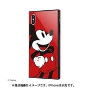 IQ-DP19K1B/AMK01 [iPhone XS Max 耐衝撃ガラスケース KAKU ディズニー ミッキーマウス 90周年/Anniversary_11]