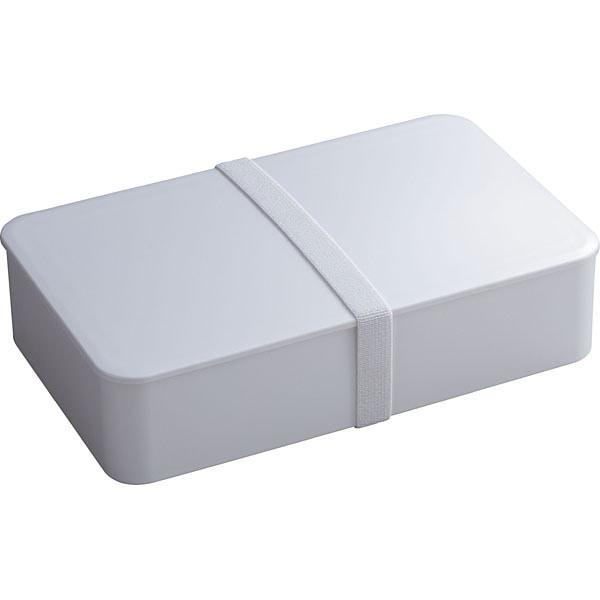 シンプルランチボックス L ホワイト [弁当箱]