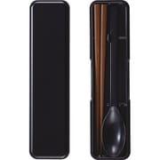 箸スプーンセット ブラック