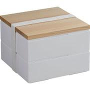 ホームデリボックス 18cm 2段 [弁当箱]