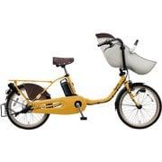 BE-ELFE03Y [電動アシスト自転車 ギュット・クルーム・EX 20型 16Ah 内装3段 シートクッション標準装備 マットハニー 2019年モデル]