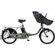 BE-ELFD03G [電動アシスト自転車 ギュット・クルーム・DX 20型 16Ah 内装3段 マットオリーブ 2019年モデル]