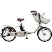 BE-ELFD03N2 [電動アシスト自転車 ギュット・クルーム・DX 20型 16Ah 内装3段 モダングレー 2019年モデル]