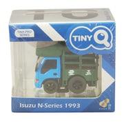 TINYQ-10a いすゞ Nシリーズ 1993 マーケットトラック ブルー/グリーン [プラスチックミニカー]