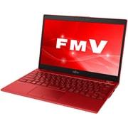 FMVU77C3RC [ノートパソコン LIFEBOOK UHシリーズ/13.3型ワイド/Corei5-8265U/メモリ 8GB/SSD 256GB/ドライブレス/Windows 10 Home 64ビット/Office Home and Business 2016/ガーネットレッド/ヨドバシカメラオリジナルモデル]