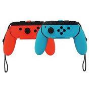 ANS-SW069RB [Nintendo Switch ジョイコン用 プレイアップ グリップ(レッド&ブルー)]
