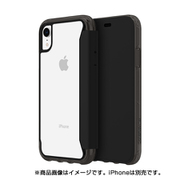 GIP-016-BKC [サバイバー クリアウォレット for iPhone XR ブラッククリア]