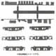 8506 [動力台車枠・床下機器セット A-22 (DT10/11/12+4316M)]