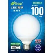 LDG11D-G AG23 [LED電球 G形 全方向タイプ 100形相当E26 昼光色 密閉器具対応]