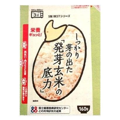 しっかり芽の出た発芽玄米の底力 160g