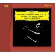 ESSG-90190 ベートーヴェン:交響曲第5番「運命」&第7番 カルロス・クライバー(指揮) ウィーン・フィルハーモニー管弦楽団 [SACDソフト]