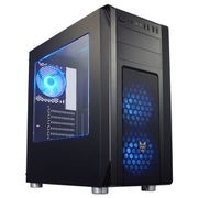 CMT230 [FSP ATX/MicroATX対応ミドルタワー PCケース 5.25ODDx2 3.5HDDx2 2.5SSDx2 Blue LED FANx1 CMT230]