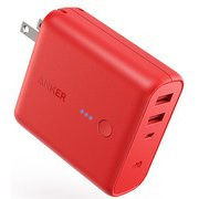 A1621191-9 [Anker PowerCore Fusion 5000 モバイルバッテリー 5000mAh red]