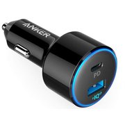 A2229011 [Anker PowerDrive Speed+ 2-1 PD & 1 PowerIQ 2.0 black]