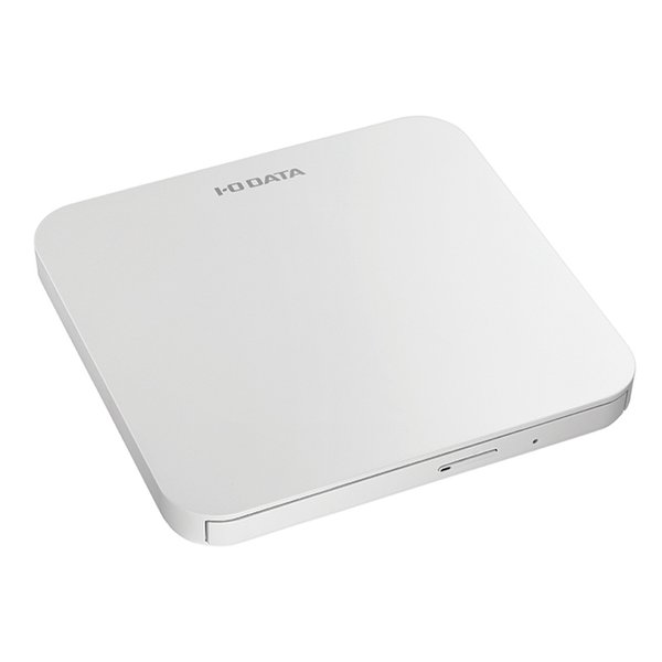 DVRP-U8LW [USB 2.0対応 ポータブルDVDドライブ ホワイト]