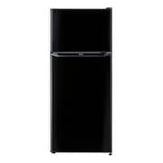 JR-N130A K [冷凍冷蔵庫 (130L・右開き) 2ドア ブラック]