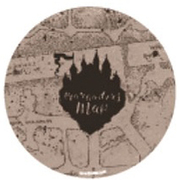 WBHP689 缶バッジ ハリー・ポッター 忍びの地図 [キャラクターグッズ]