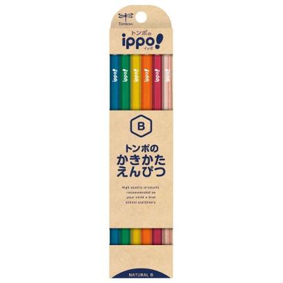 KB-KNN04-B [ippo! かきかた鉛筆 ナチュラルN04 B]