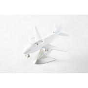 C3160-WH [置時計 ミニチュアクロックコレクション 飛行機 (ホワイト)]