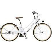 ASCENT CITY LG WHITE 2019 [電動アシスト自転車 390mm(137cm~) 12.3Ah 内装3段変速 SHIMANO INTER-3 2019年モデル]