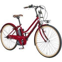 ASCENT CITY LG RED [電動アシスト自転車 390mm(137cm~) 12.3Ah 内装3段変速 SHIMANO INTER-3]