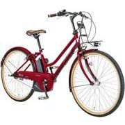 ASCENT CITY LG RED [電動アシスト自転車 390mm(137cm~) 12.3Ah 内装3段変速 SHIMANO INTER-3 2019年モデル]