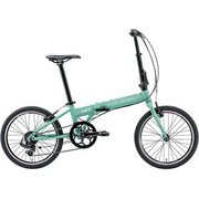 EASEL 6.0(290)(AI) MATT BRILLIANT GREEN [折りたたみ自転車 ミニベロ 290mm(145~175cm) 外装7段変速 SHIMANO TOURNEY FT]