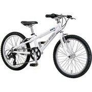 J20(250)(AI) LG WHITE [20インチ ジュニアクロスバイク 250mm(110~125cm) 外装6段変速 SHIMANO TOURNEY]