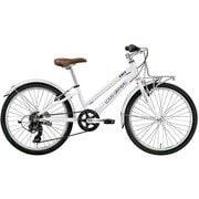 J22PLUS(270)(AI) LG WHITE [ジュニアスポーツバイク 270mm(120~135cm) 外装6段変速 SHIMANO TOURNEY]