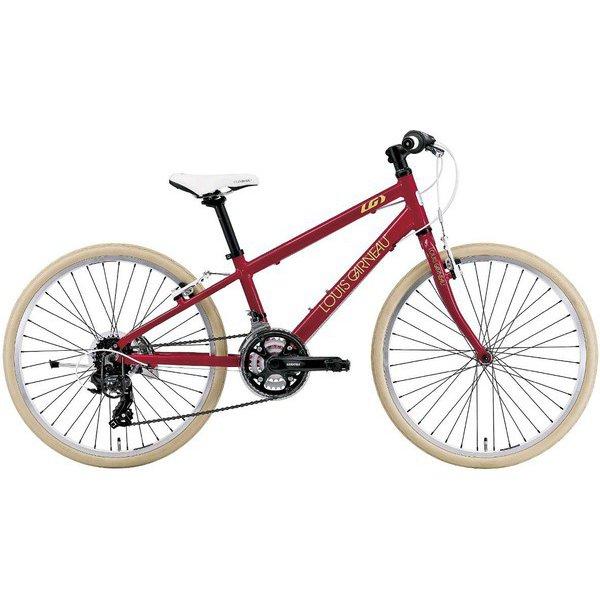 J24CROSS(300)(AI) LG RED [24インチ ジュニア用クロスバイク 300mm(130~145cm) 外装21段変速 SHIMANO TOURNEY]