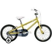 K16(220)(AI) MUSTARD [子ども用自転車 220mm(95~115cm) 変速なし]