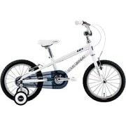 K16(220)(AI) LG WHITE [子ども用自転車 220mm(95~115cm) 変速なし]
