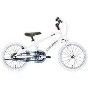 K16LITE(AI) LG WHITE [子ども用自転車 235mm(100~115cm) 変速なし]