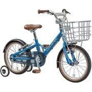 K16PLUS(220)(AI) SMOKE BLUE [子ども用自転車 16インチ 220mm(95~115cm) 変速なし 2019年モデル]
