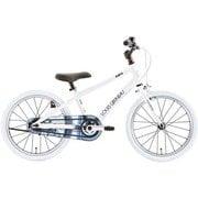 K18LITE(AI) LG WHITE [子ども用自転車 265mm(105~120cm) 変速なし]