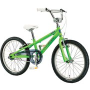 LGS-K20 LG GREEN 230MM [子ども用自転車 20インチ BMXタイプ 230mm(105~125cm) 変速なし 2019年モデル]
