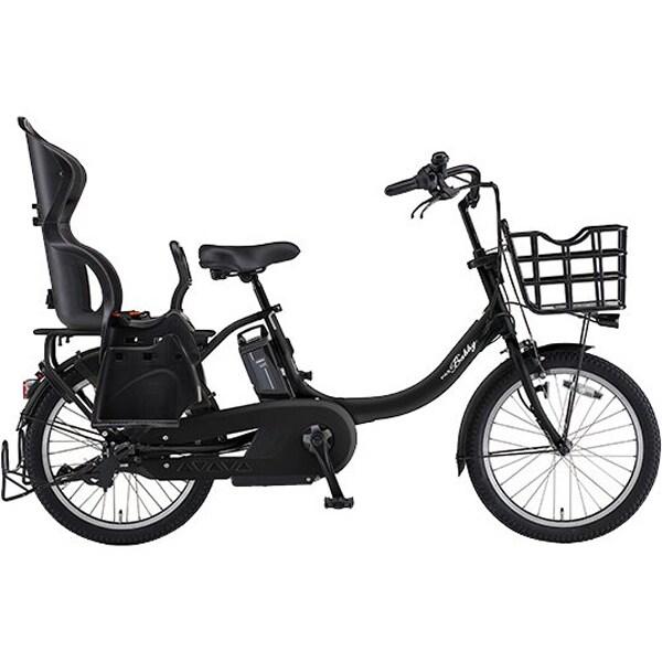PA20BSPR [電動アシスト自転車 PAS Babby un SP (パス バビー アン スーパー) 2019年モデル 20インチ 15.4Ah 内装3段変速 マットブラック2]
