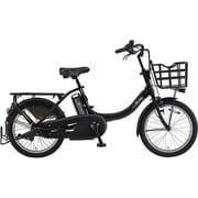 PA20BXL [電動アシスト自転車 PAS Babby un (パス バビー アン) 2019年モデル 20インチ 12.3Ah 内装3段変速 マットブラック2]