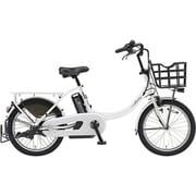 PA20BXL [電動アシスト自転車 PAS Babby un (パス バビー アン) 2019年モデル 20インチ 12.3Ah 内装3段変速 ピュアホワイト]