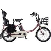 PA20BXLR [電動アシスト自転車 PAS Babby un (パス バビー アン) 2019年モデル 20インチ 12.3Ah 内装3段変速 リヤチャイルドシート付 ワインレッド]
