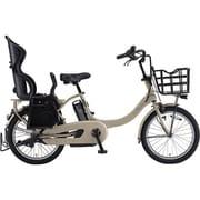 PA20BXLR [電動アシスト自転車 PAS Babby un (パス バビー アン) 2019年モデル 20インチ 12.3Ah 内装3段変速 リヤチャイルドシート付 マットカフェベージュ]