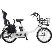 PA20BXLR [電動アシスト自転車 PAS Babby un (パス バビー アン) 2019年モデル 20インチ 12.3Ah 内装3段変速 リヤチャイルドシート付 ピュアホワイト]