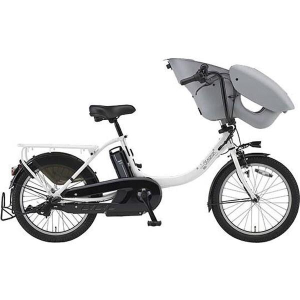 PA20KXL [電動アシスト自転車 PAS Kiss mini un (パス キッス ミニ アン) 2019年モデル 20インチ 12.3Ah 内装3段変速 ピュアパールホワイト]