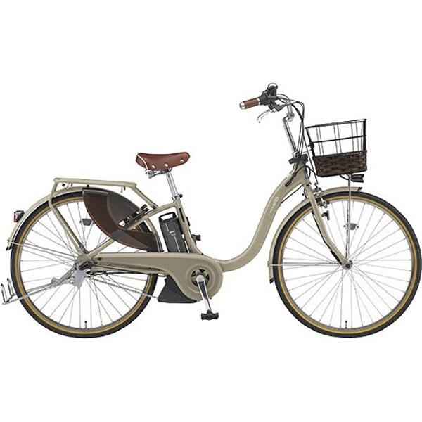 PA26WDX [電動アシスト自転車 PAS (パス) With DX 2019年モデル 26型 12.3Ah 内装3段変速 マットカフェベージュ(ツヤ消しカラー)]