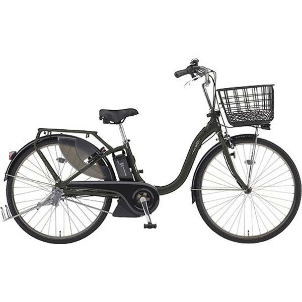 PA26WSP [電動アシスト自転車 PAS With SP (パス ウィズ スーパー) 2019年モデル 26型 15.4Ah 内装3段変速 マットダークグリーン(ツヤ消しカラー)]